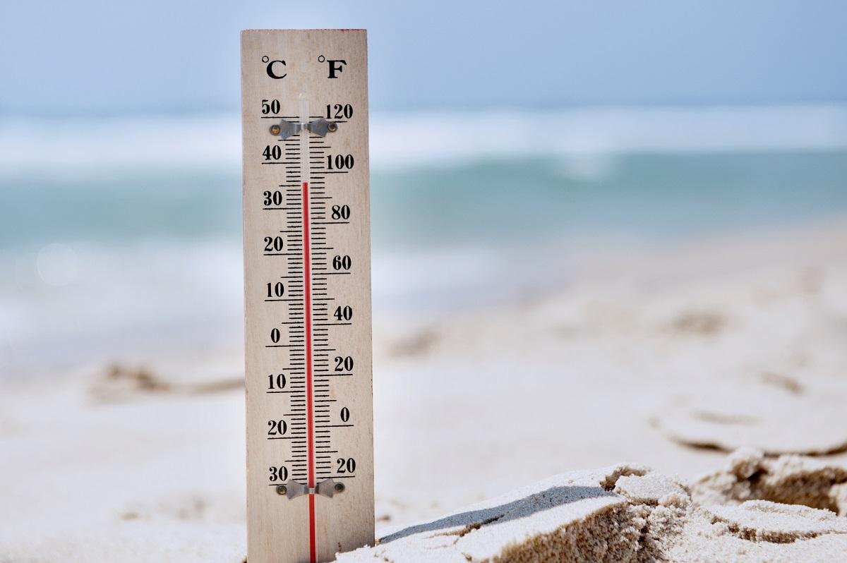 high temperature due to heatwave